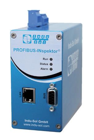 Indu-Sol PROFIBUS Condition monitoring tool PROFIBUS INspektor